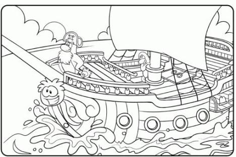 CP coloring page- RH